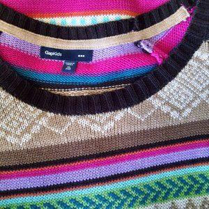 Gap Kids Dresses - Gap Kids Colorful Sweater Dress  XL 12